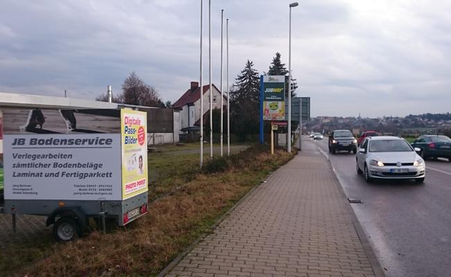 Anhänger Werbung Altenburg